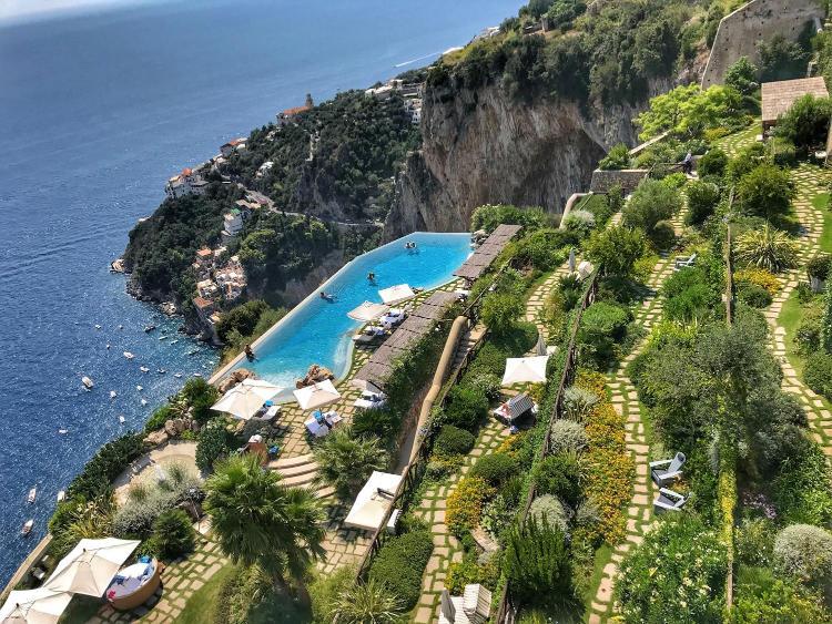 Via Roma 2, Conca dei Marini, Amalfi Coast, Italy.
