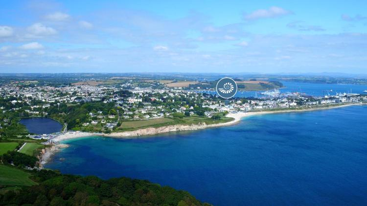 Gyllyngvase Beach, Falmouth TR11 4NB, Cornwall, England.