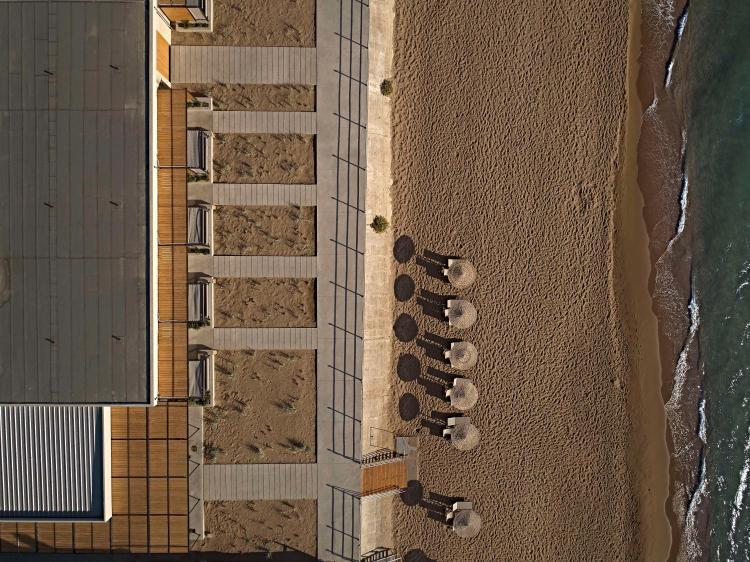 Dexamenes Seaside Hotel, Kourouta Beach, Amaliada, Peloponnese, Greece.