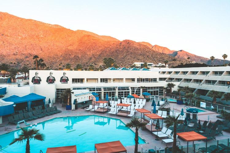 150 South Indian Canyon Drive, Palm Springs, California 92262, United States.