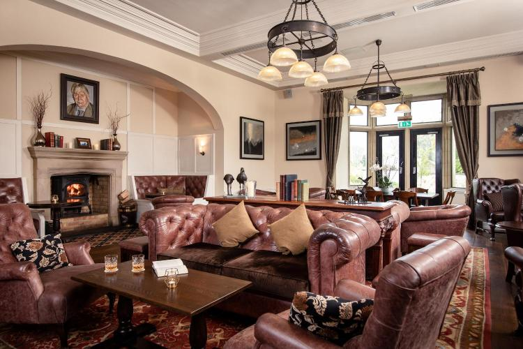 Lough Eske Castle Hotel and Spa, Donegal Town, Co. Donegal, Ireland.