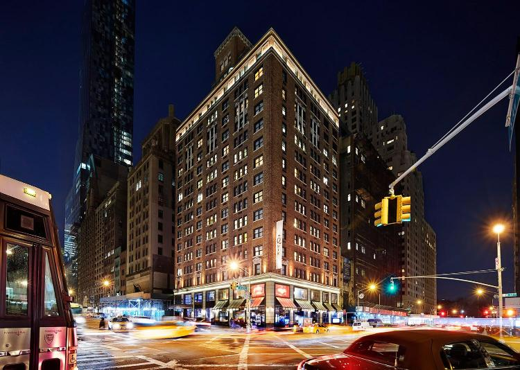 101 West 57th Street at Sixth Avenue, New York, 10019, United States.