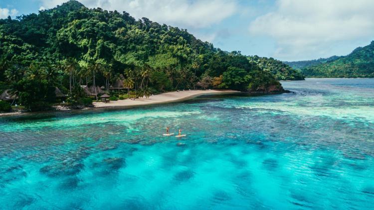Qamea Island, off Taveuni, Fiji.