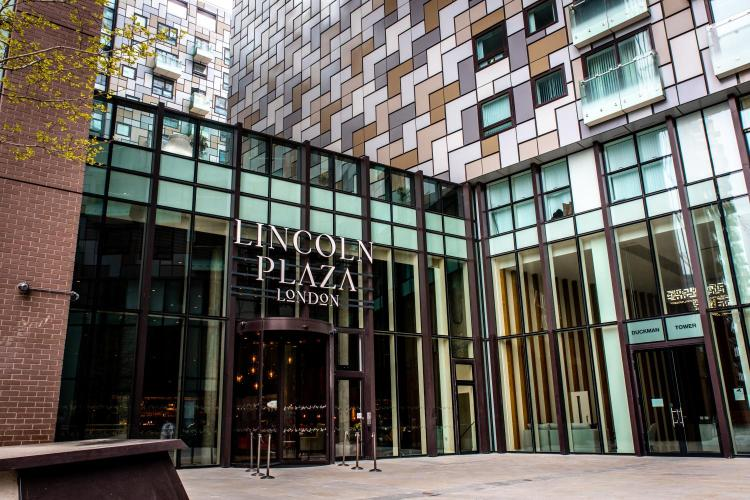 2 Lincoln Plaza, Millharbour, Canary Wharf, London, E14 9BD.