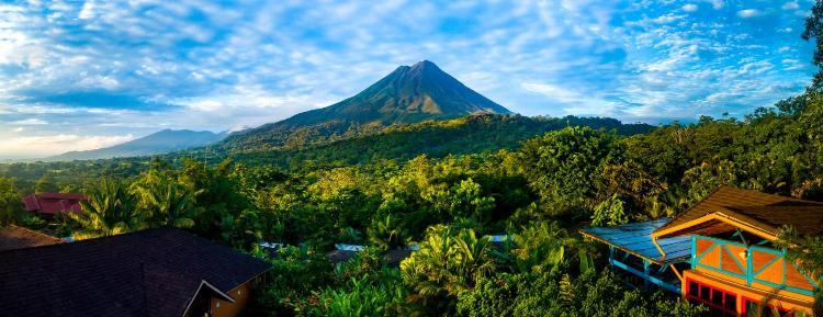Arenal Volcano National Park, La Fortuna, Costa Rica.