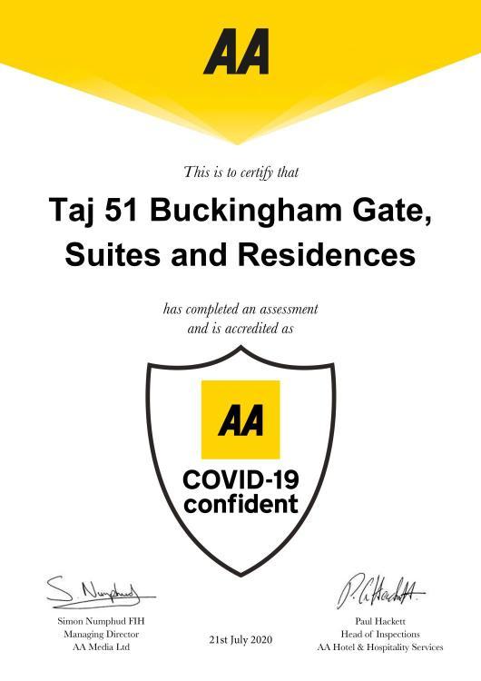 1 Buckingham Gate, London SW1E 6AF, England.