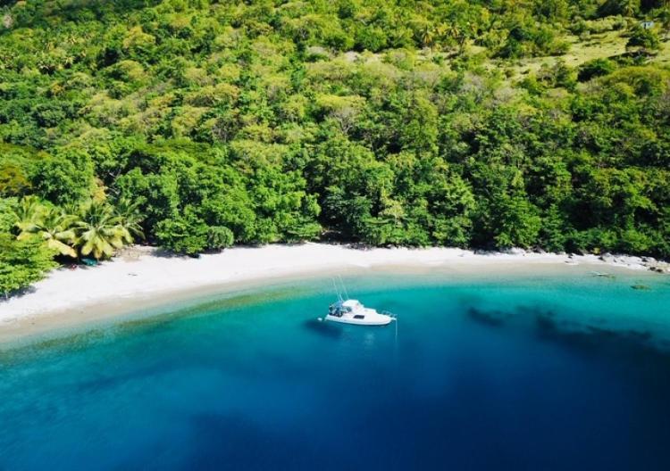La Pointe, Choiseul, Saint Lucia, West Indies.