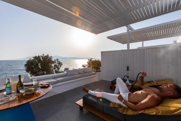 Agia Anna Beach, Naxos, Cyclades, Greece.