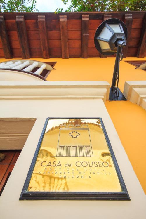 Calle del Coliseo #35 - 23, Cartagena, Bolívar, Colombia.