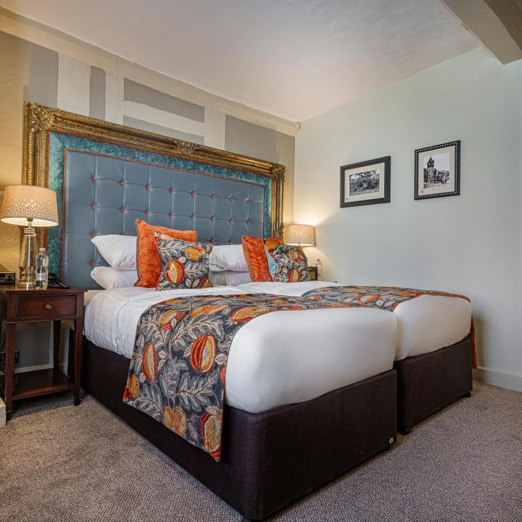 The Feathers Hotel, 25 High Street, Ledbury, Herefordshire, HR8 1DS, England.