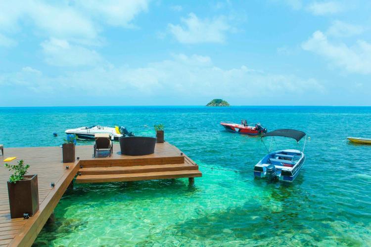 Deep Blue, Maracaibo Bay, Isla Providencia, San Andres Islands, Colombia.