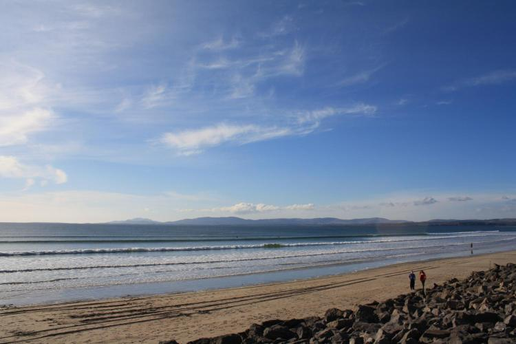 Rossnowlagh Beach, Rossnowlagh, County Donegal, Republic of Ireland.