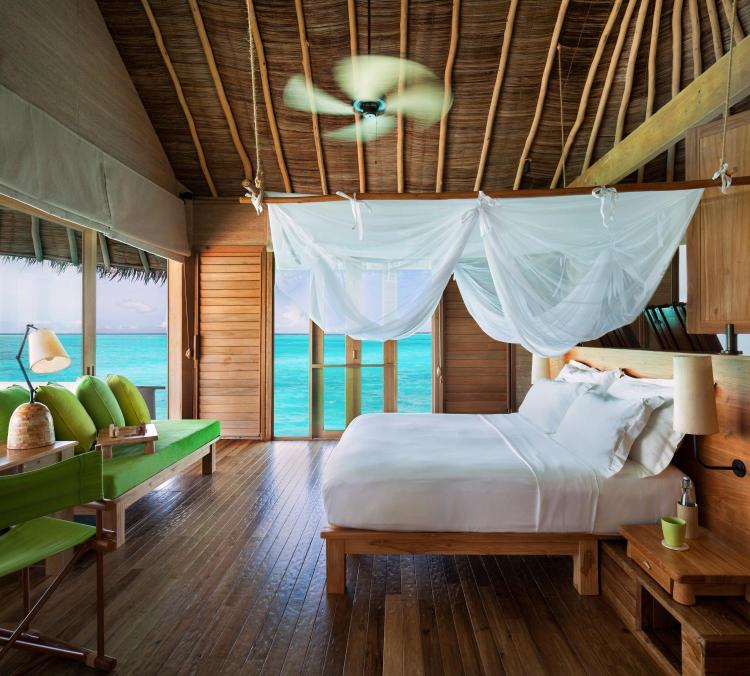 Olhuveli Island, Laamu Atoll, Maldives.