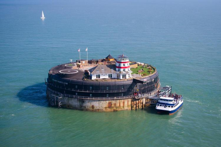 Solent Forts Port Office, Canalside, Gunwharf Quays, Portsmouth PO1 3FH, England.