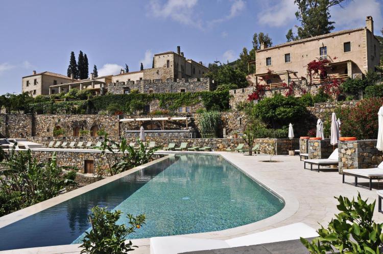 Kinsterna Hotel, Agios Stefanos, Monemvasía, 23070, Greece.
