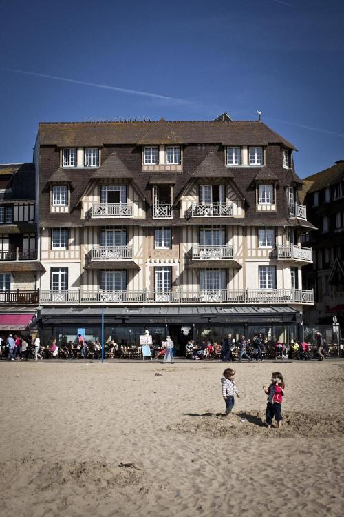 Rue Gustave Flaubert, Trouville-sur-Mer 14360, Normandy, France.