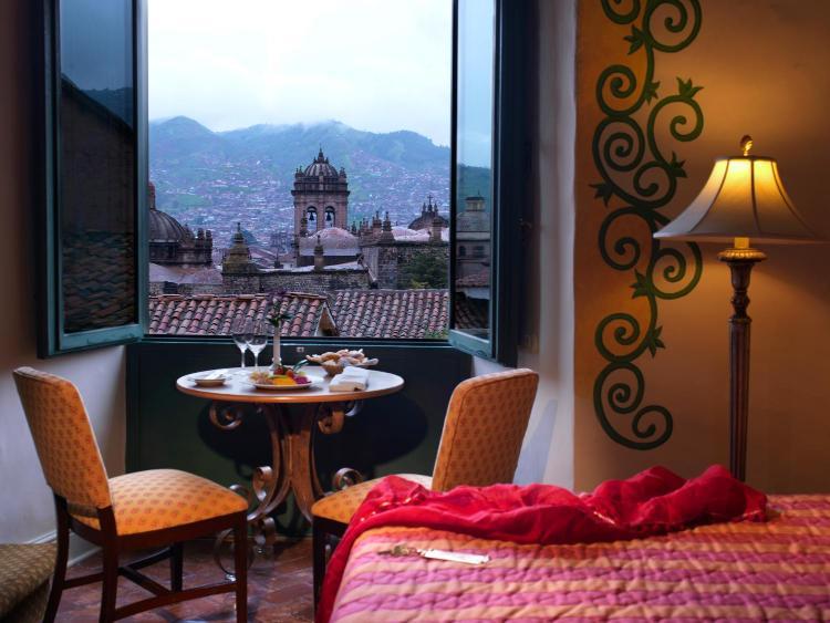 Calle Palacio 136, Plazoleta Nazrenas, Cusco, Peru.
