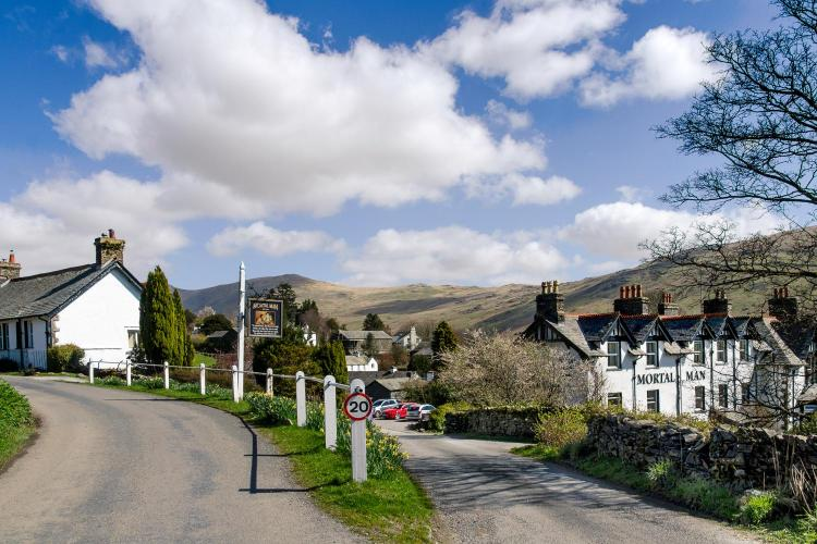 Troutbeck, Lake District, Cumbria LA23 1PL, England.