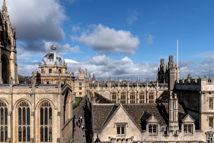 91-94 High Street, Oxford, England, United Kingdom, OX1 4BJ.