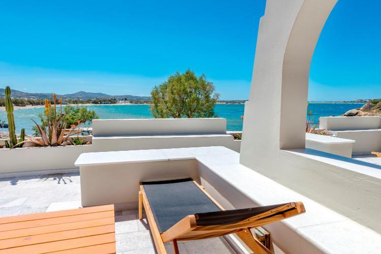 Nissaki Beach, Agios Georgios 84300, Naxos, Greece.