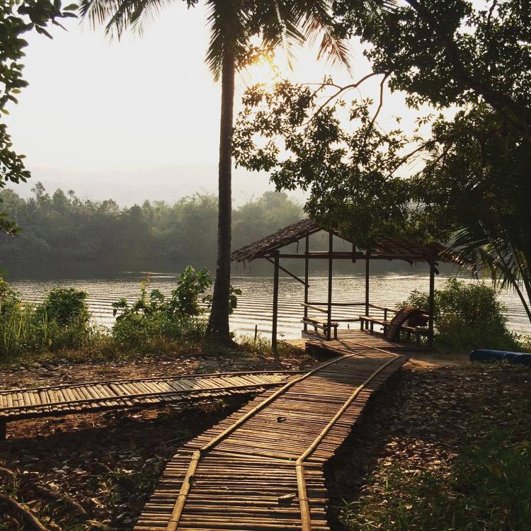 Tatai River, Koh Kong, Cambodia.