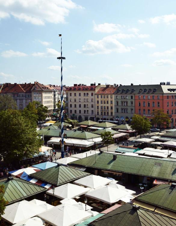 Viktualienmarkt 6, 80331 Munich, Germany.