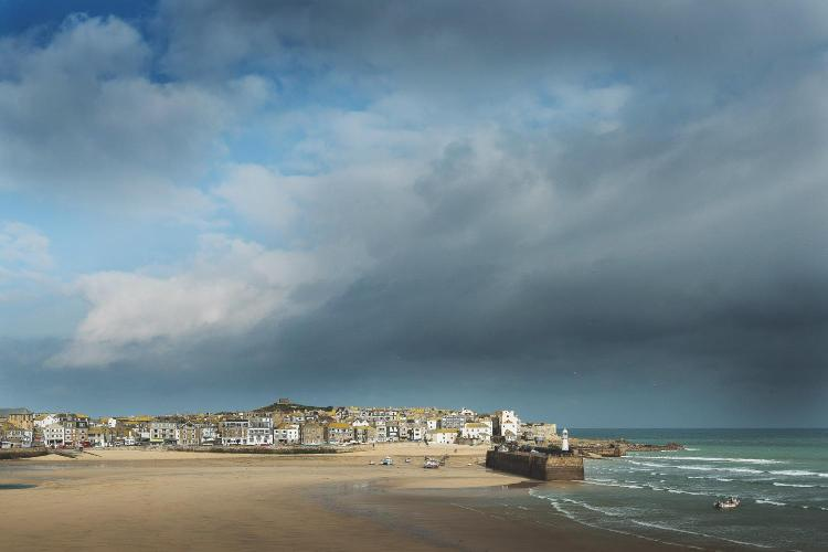 West Porthminster Beach, St Ives, Cornwall, TR26 2EA, England.