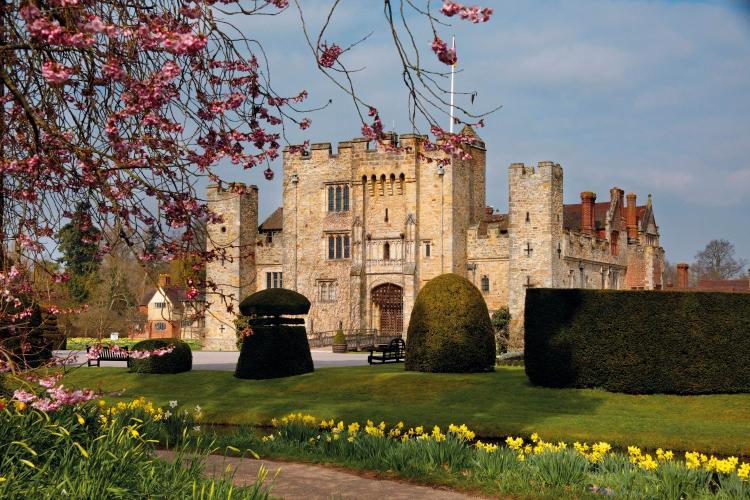 The Astor Wing, Hever Castle, Edenbridge, TN8 7NG, Kent, England.