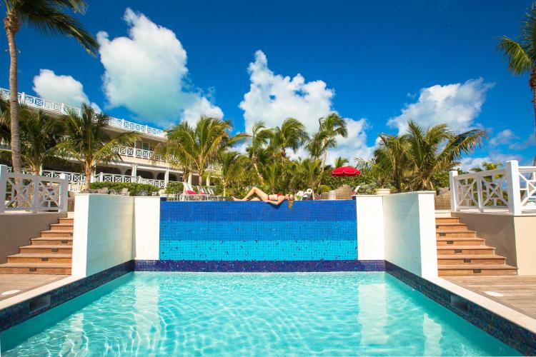 Chapel Street, Dunmore Town, Harbour Island, Bahamas.