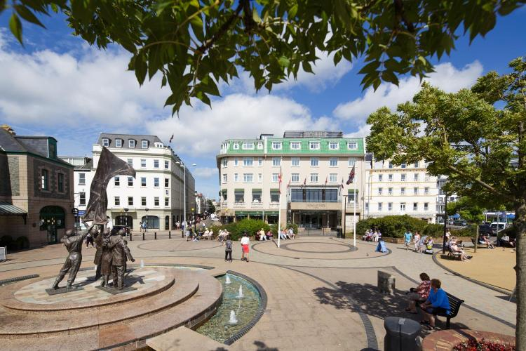 Liberation Square, Saint Helier JE1 3UF, Jersey, Channel Islands.