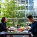 Shangri-La Hotel Vancouver - hotel a pokoj fotografie