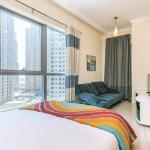 DHH -Come Home To A Cozy Studio in Bay Central Dubai Marina 5 Mins Walk to The Beach - thumbnail 12