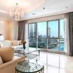 Keysplease Exclusive Gold Plated 3B/R Full Burj Views Downtown - thumbnail 12