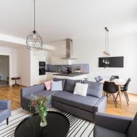 Modern suites in Hipster Letna