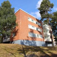 A colourful one-bedroom apartment for three persons in Kulomäki, Vantaa. (ID 2132)