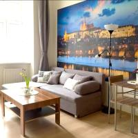 Cozy studio 15 min CHARLES BRIDGE by walk