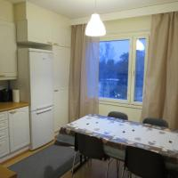 A well-equipped two-bedroom apartment near the city center of Porvoo. (ID 9048)