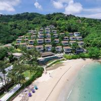 3 bed beachfront villa in Kata Noi