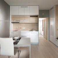 Apartement Blanc de luxe