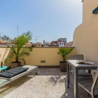 Bright Apartment in Gracia with Terrace