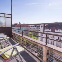 Holesovice terrace apartment   PragueStars