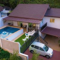 Luxury two bedroom pool villa