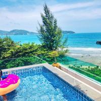 Three-Bedroom 270° Ocean View Pool Apartment at Kamala