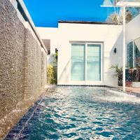 Phuket Mountain View 2BR WaterFall Pool Villa in Kamala