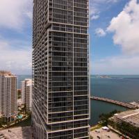Luxury 5-star Condo @37th floor in Icon Brickell 2b/2b