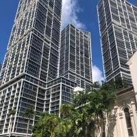 44 Floor views @ THE W - Miami Brickell +GYM+SPA