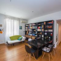 Bright and colorful flat