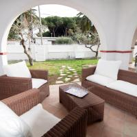 Casa 3 dorm a pie del mar con su jardin y parking