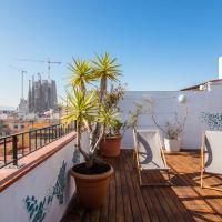 Apartamenty, Exclusive Sagrada familia penthouse with sea views