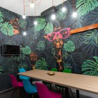 FACES of Jungle-luxurios design in vibrant centre